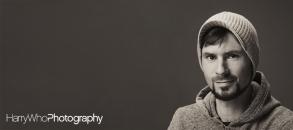 Artistic Headshot of a male